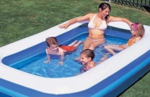 How to Find a Hole in a Paddling Pool