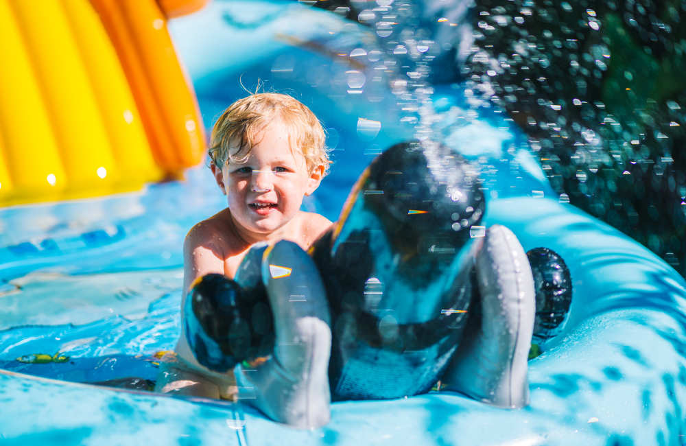 6 Best Paddling Pools with Slides