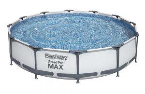 Bestway 12ft Pro Max Steel Paddling Pool