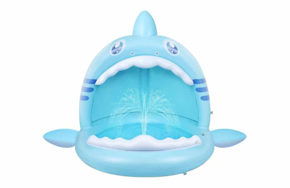 Flyboo Shark Splash Baby Paddling Pool
