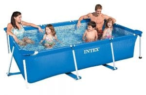 Intex Metal Frame 3m x 2m Paddling Pool.
