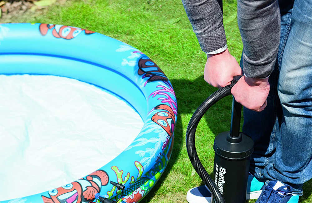 How to Blow up a Paddling Pool